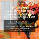 8000 Tax Credit Ad_homebuyer